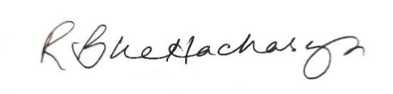 Rupa Bhattacharyya Signature